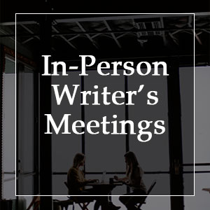 In-Person Writer's Meetings